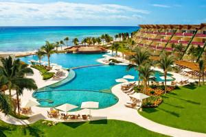 Exterior view of Grand Velas All Suites and Spa Resort - Riviera Maya.