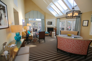 Guest suite at Ocean Edge Resort & Golf Club.