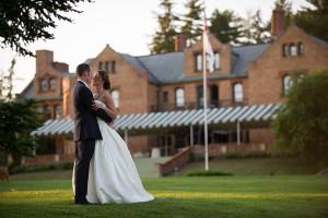 Wedding at Cranwell Resort.