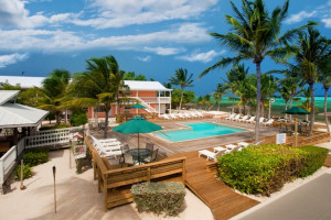 Exterior view of Little Cayman Beach Resort.