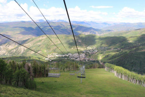 Ski lift at The Osprey at Beaver Creek, A Rock Resort.