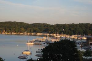 Lake view at Harbor Shores.
