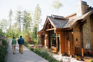 Exterior view of Teton Springs Lodge.