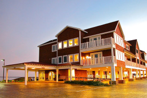 Exterior view of Oasis Suites.