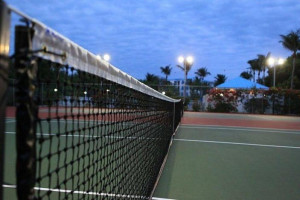 Tennis court at iTrip - Islamorada.