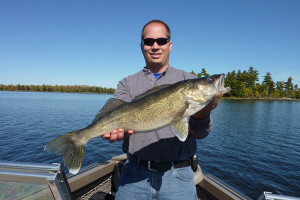 Fishing at Kabetogama Lake Association.