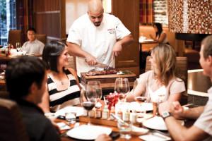 Sidecut Restaurant at Four Seasons Resort Whistler.