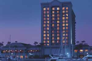 Exterior view of The Ritz-Carlton, Marina del Rey.
