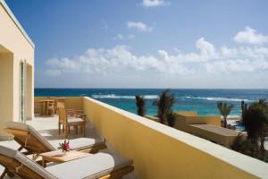 Balcony view at The Westin Dawn Beach Resort & Spa.