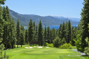 Golf course at Tahoe Getaways.