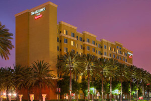 Exterior view of Residence Inn-Anaheim Resort.