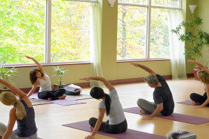 Fitness classes at Canyon Ranch in Lenox.