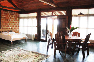 Guest room at Rio Negro Lodge.
