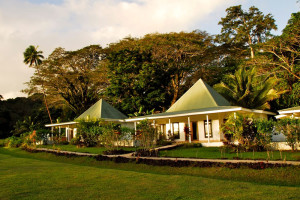 Villas Exterior at Koro Sun Resort