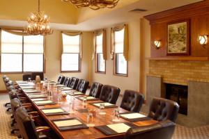Meeting room at Stonewall Resort.