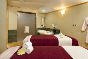 Massage tables at Westgate Park City Resort & Spa.