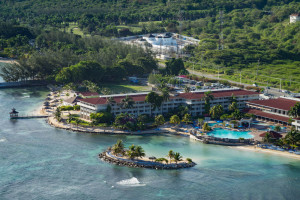 Aerial view of Holiday Inn Sunspree Montego Bay.
