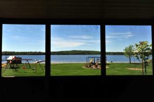 Lake view at Agate Lake Resort.