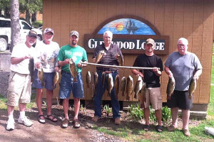 Fishing at Glenwood Lodge.