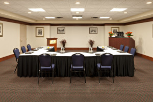 Meeting room at Delta Banff Royal Canadian Lodge.