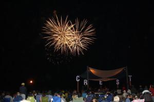 Fireworks at Paradise Oceanfront Resort.