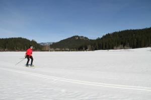 Skiing at  Natapoc Lodging.
