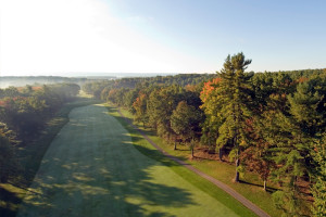 Golf course at Toftrees Golf Resort and Conference Center.
