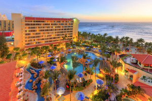 Exterior view of Occidental Grand Aruba.