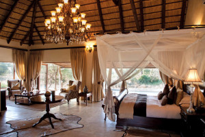 Honeymoon suite at King's Camp.