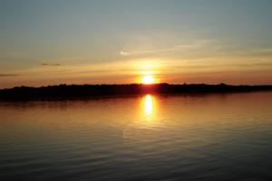 Lake view at Moonlight Bay Resort.