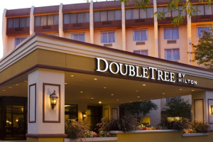 Exterior View of Doubletree Princeton