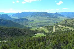 Landscape around Bill Cody Ranch