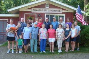 Family reunions at Tamarac Bay Resort.