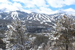 Mountains at BlueSky Breckenridge.