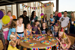 Birthday party at Castle Rock Resort and Waterpark.