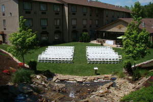 Wedding reception at Mountain Lodge & Conference.
