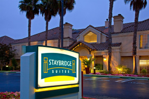 Exterior view of Staybridge Suites Torrance/Redondo Beach.