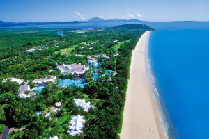 Aerial view of Sheraton Mirage Port Douglas.
