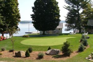 Golf at Port Cunnington Lodge.