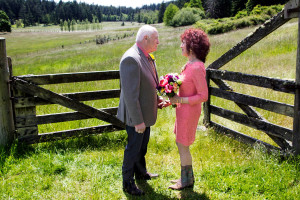 Wedding at Turtleback Farm Inn.