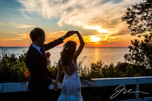 Wedding at Michillinda Beach Lodge.