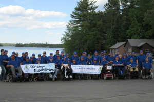 Group at Veterans On The Lake.