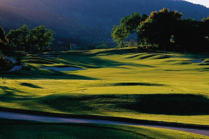 Golf course at The Fairmont Sonoma Mission Inn & Spa.