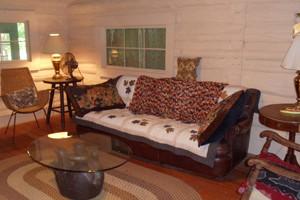 Cabin Interior at Blue Jay Farm