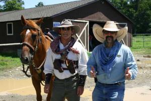 Malibu Dude Ranch horse riding lessons.