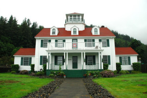 Historic Coast Guard Office near The Garibaldi House Inn.
