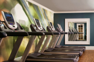 Fitness room at Pier House Resort & Spa.