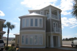 Rental exterior at Sandcastle Escapes.