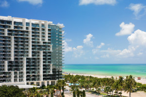 Exterior view of W South Beach.