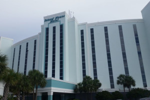 Exterior view of The Island House Hotel.